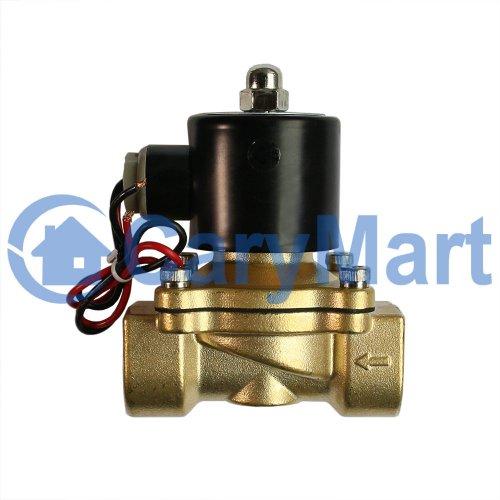 "Elektro Magnetventil Ventil f Wasser Luft 12V 24V 220V 1//4/"""