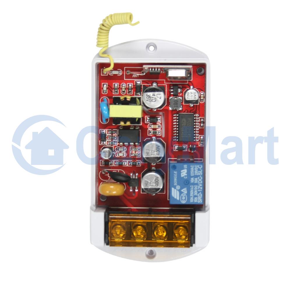 380V 1 Kanal Funkfernbedienung+10A Schaltschütz Autowäscher Pumpe ...