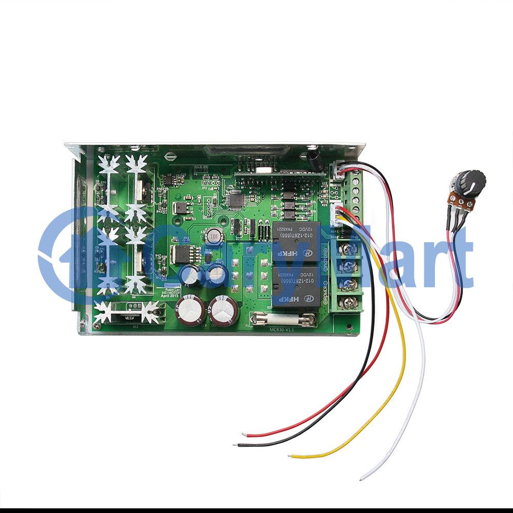 DC12/24V Motorsteuerung Empfänger Motorkontroller Rotation Motor mit ...