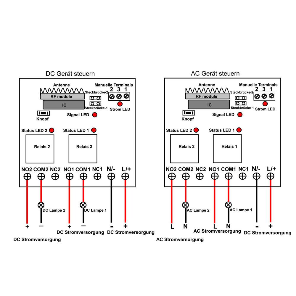 Fantastisch Lichtschalterterminals Fotos - Schaltplan Serie Circuit ...