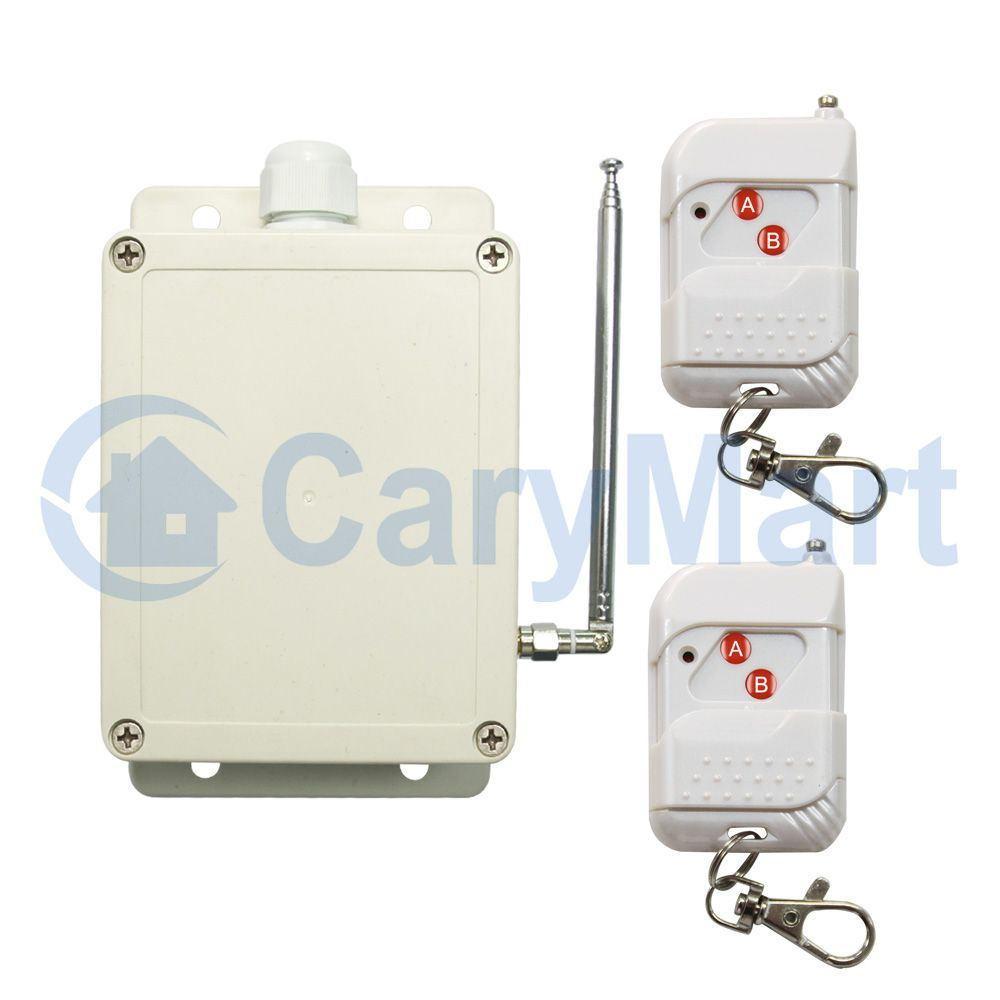 1 Kanal AC 220V 110V Funk Schalter Licht / Lüfter / Garagentor ...
