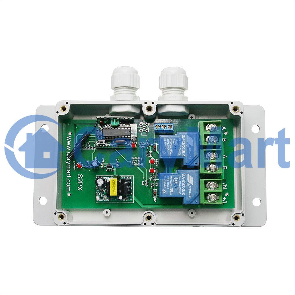 2 kanal hochleistungsschalter mit spannungsausg nge 110v 220v klimaanlage heizplatte. Black Bedroom Furniture Sets. Home Design Ideas
