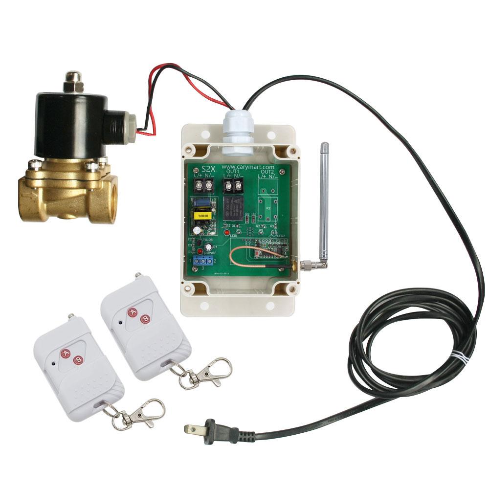 1/4 1/2 3/4 1 AC 230V Elektrische Magnetventil Messing Ventil Wasser ...