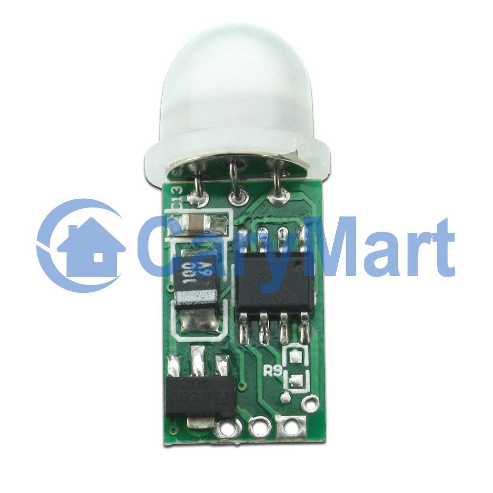 6v 30v mini pir infrarot bewegungsmelder detektor modul b. Black Bedroom Furniture Sets. Home Design Ideas